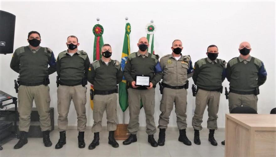 Sessão Solene para entrega da Honraria Policial Militar Destaque do Ano